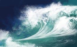 Oceaan Golven Stock Afbeeldingen
