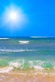 Oceaan golven stock fotografie