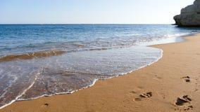 Oceaan golven stock afbeelding