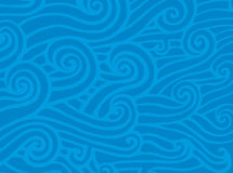 Oceaan golven (vector) Stock Afbeeldingen