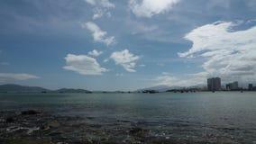 Oceaan hoge de definitiefilm van golven tropische Vietnam stock footage