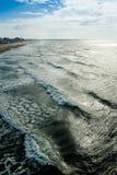 Oceaan horizon Royalty-vrije Stock Afbeelding