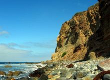 Oceaan Klippen Royalty-vrije Stock Afbeeldingen