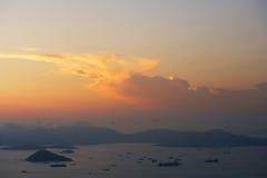 Oceaan landschap stock afbeelding