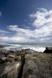 Oceaan Landschap Stock Foto