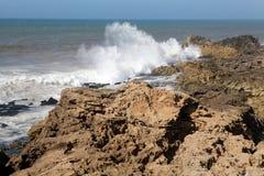 Oceaan landschap Royalty-vrije Stock Afbeelding