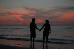 Oceaan liefde Royalty-vrije Stock Foto's