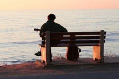 Oceaan muziek Stock Foto's