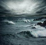 Oceaan onweer Royalty-vrije Stock Foto