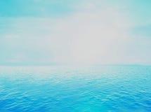 Oceaan open water stock illustratie