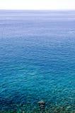 Oceaan oppervlakte Royalty-vrije Stock Afbeeldingen