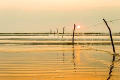 Oceaan overzees landschap Stock Foto's