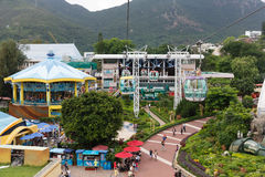Oceaan Park Hongkong Stock Afbeelding