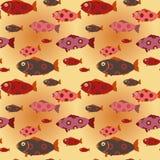 oceaan patroon vector illustratie