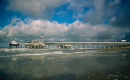 Oceaan Pijler Royalty-vrije Stock Foto