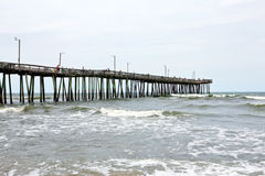 Oceaan Pijler Stock Foto