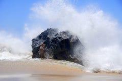 Oceaan Plons Royalty-vrije Stock Afbeeldingen