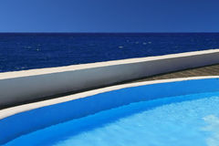 Oceaan pool Stock Fotografie