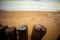 Oceaan scène stock afbeelding