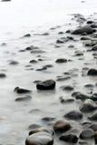 Oceaan stenen royalty-vrije stock foto's