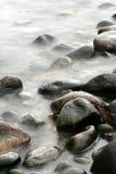 Oceaan stenen royalty-vrije stock afbeeldingen
