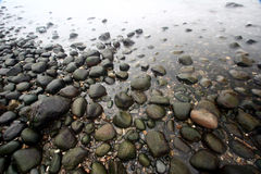 Oceaan stenen Royalty-vrije Stock Foto