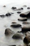 Oceaan stenen stock afbeelding