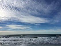 Oceaan strand Stock Foto's
