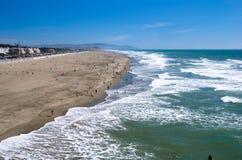 Oceaan Strand, San Francisco Royalty-vrije Stock Afbeeldingen