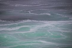 Oceaan Wervelingen Stock Foto