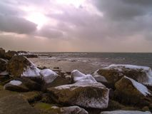 Oceaanaandrijving stock foto