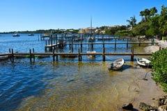 Oceaanfront community Royalty-vrije Stock Fotografie