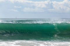 Oceaangolf Blauw Water Royalty-vrije Stock Afbeelding