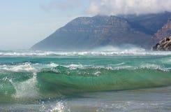 Oceaangolf Cape Town Stock Foto's