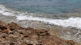 Oceaangolfbrekervideo stock footage