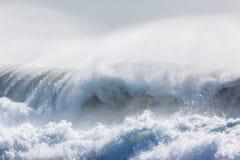 Oceaangolvenonweren Royalty-vrije Stock Afbeelding