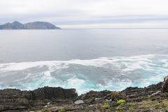 Oceaankust Royalty-vrije Stock Afbeeldingen