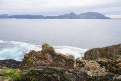 Oceaankust Royalty-vrije Stock Foto's