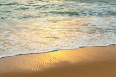 Oceaankust Vuurtoren van San Pedro de Moel Royalty-vrije Stock Afbeelding