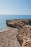 Oceaanlandschap. royalty-vrije stock afbeelding
