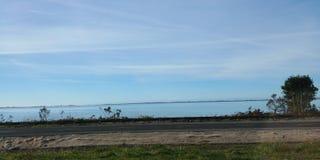 Oceaanmening over de Weg Stock Foto's