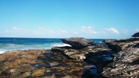Oceaanmening @ Zoetwater, NSW Australië royalty-vrije stock afbeelding