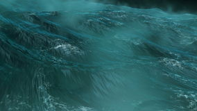 Oceaanonweer stock footage