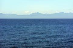 Oceaanpanorama royalty-vrije stock afbeeldingen