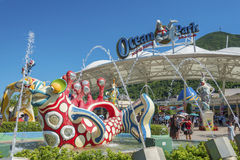 Oceaanpark in Hong Kong Royalty-vrije Stock Fotografie