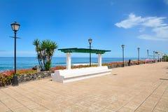 Oceaanpromenade Royalty-vrije Stock Afbeeldingen