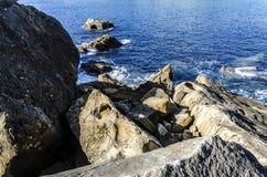 Oceaanrotsen Stock Foto's