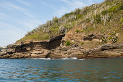 Oceaanrotsen van Buzios - RJ Royalty-vrije Stock Foto