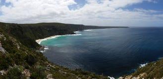 Oceaanschaduwen op Kangoeroeeiland Stock Foto