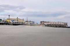 Oceaanstad, de promenade van New Jersey Stock Afbeelding